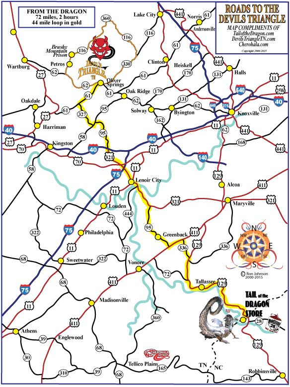 Devils Triangle Directions – Tail of the Dragon Maps on giving directions, travel directions, driving directions, compass directions, traffic directions, scale directions, get directions, mapquest directions,