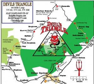 Devils Triangle TN – Tail of the Dragon Maps