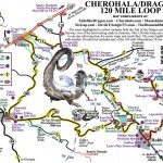 Tail of the Dragon and Cherohala Skyway Loop Map
